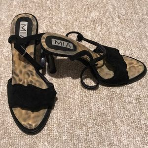 Black MIA heels